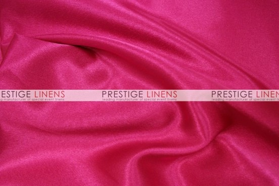 Crepe Back Satin (Japanese) Table Runner - 556 Dk Fuchsia