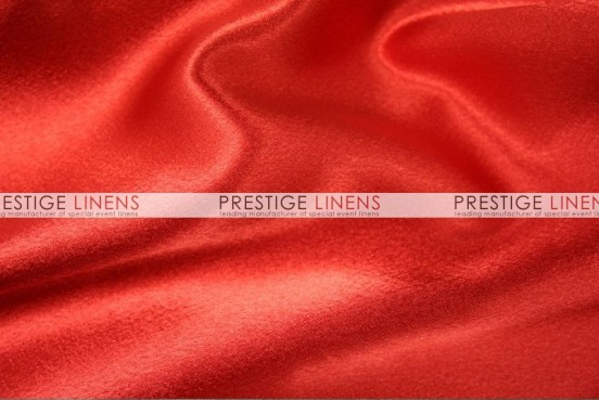 Crepe Back Satin (Japanese) Table Runner - 626 Red