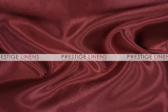 Crepe Back Satin (Japanese) Table Runner - 628 Burgundy