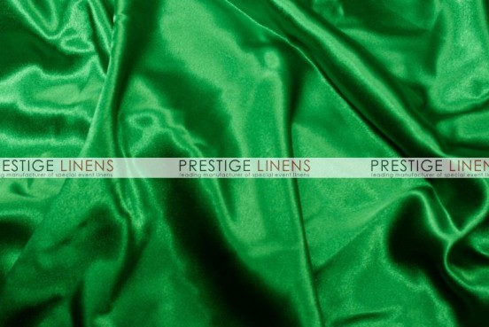 Crepe Back Satin (Japanese) Table Runner - 755 Kelly Green