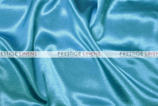 Crepe Back Satin (Japanese) Table Runner - 927 Aqua