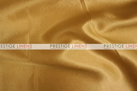 Crepe Back Satin (Korean) Table Runner - 227 N Gold