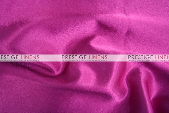 Crepe Back Satin (Korean) Table Runner - 529 Fuchsia