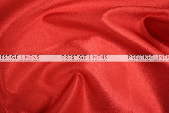 Crepe Back Satin (Korean) Table Runner - 626 Red