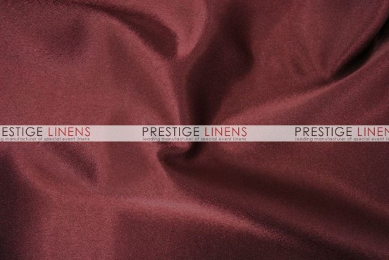Crepe Back Satin (Korean) Table Runner - 628 Burgundy