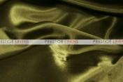 Crepe Back Satin (Korean) Table Runner - 830 Olive