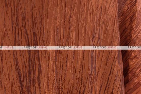 Crushed Taffeta Table Runner - 368 Terracotta
