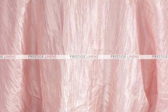 Crushed Taffeta Table Runner - 567 Blush Pink