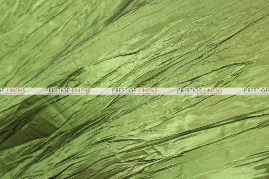 Crushed Taffeta Table Runner - 749 Dk Lime