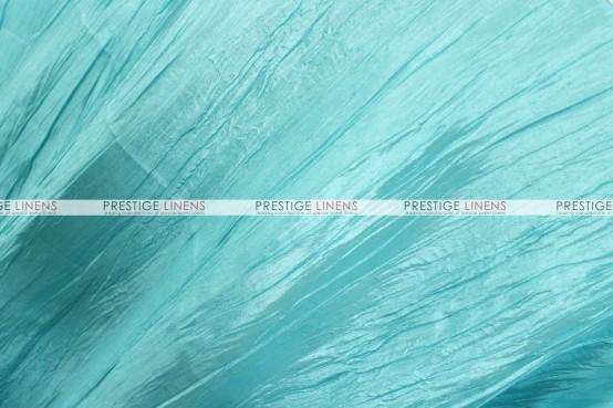 Crushed Taffeta Table Runner - 951 Tiffani Blue