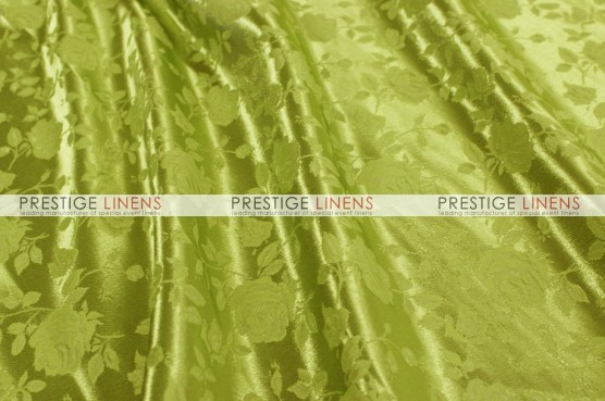 Brocade Satin Draping - Kiwi