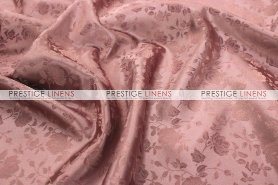 Brocade Satin Draping - Mauve