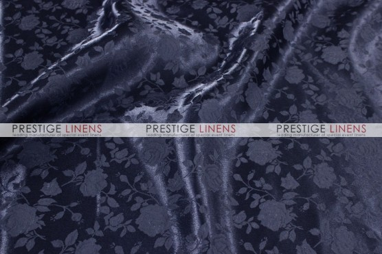 Brocade Satin Draping - Navy