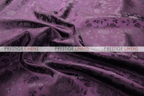 Brocade Satin Draping - Plum