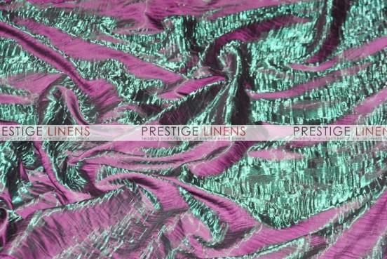 Iridescent Crush Table Runner - Emerald/Magenta