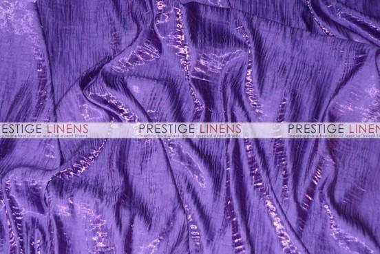 Iridescent Crush Table Runner - Lt Purple