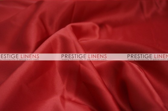 Lamour Matte Satin Table Runner - 647 Fiesta Red
