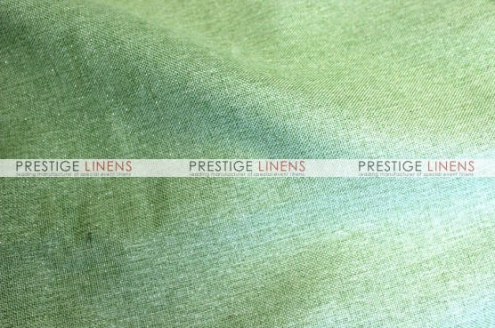 Metallic Linen Table Runner - Pistachio