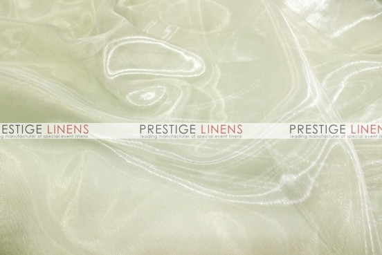 Mirror Organza Table Runner - 128 Ivory