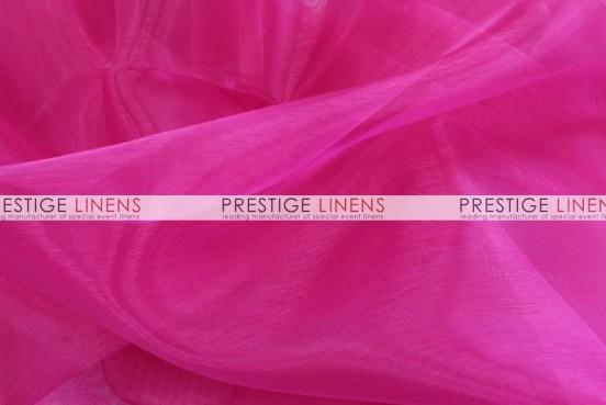 Mirror Organza Table Runner - 528 Hot Pink