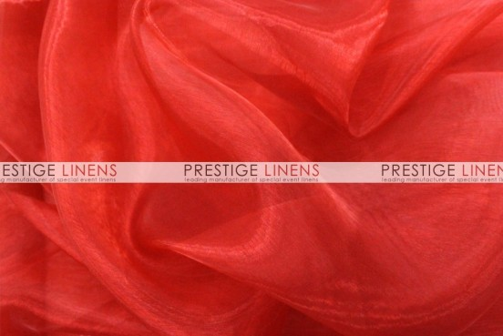 Mirror Organza Table Runner - 626 Red