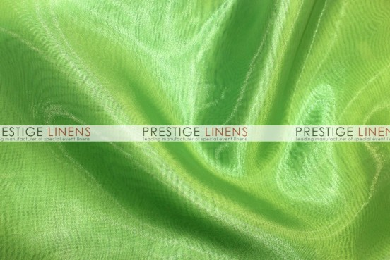 Mirror Organza Table Runner - 726 Lime