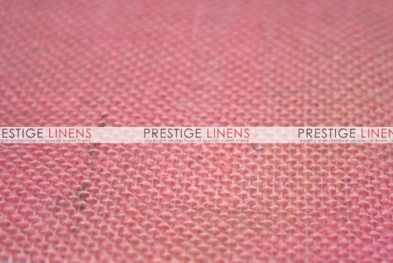 Burlap Draping - Pink