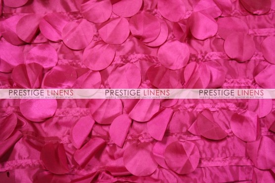 Petal Taffeta Table Runner - Fuchsia