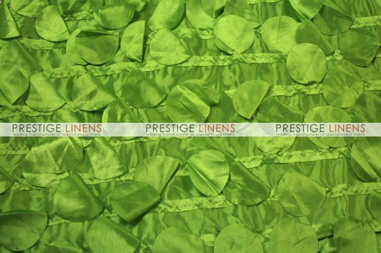 Petal Taffeta Table Runner - Lime