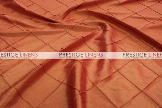 Pintuck Taffeta Table Runner - Orange