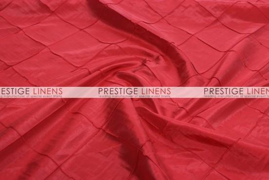 Pintuck Taffeta Table Runner - Red