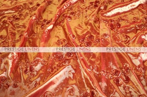 Ribbon Taffeta Table Runner - Orange
