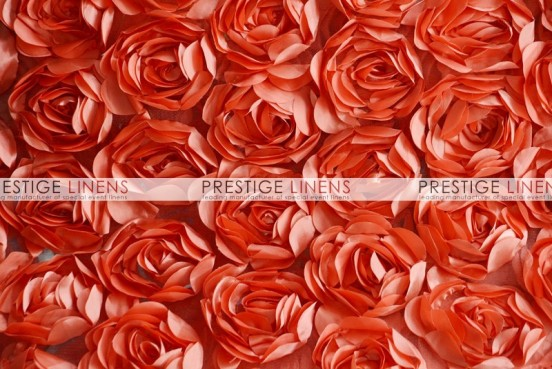 Rose Bordeaux Table Runner - Coral