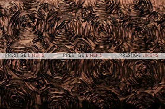 Rosette Satin Table Runner - Brown