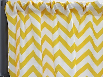 CHEVRON PRINT POLY (limited stock)