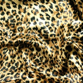 CHEETAH PRINT CHARMEUSE
