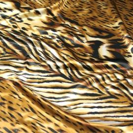 Tiger Print Charmeuse