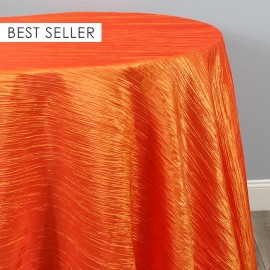 CRUSHED TAFFETA TABLECLOTH