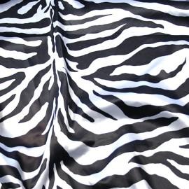 Zebra Print Charmeuse