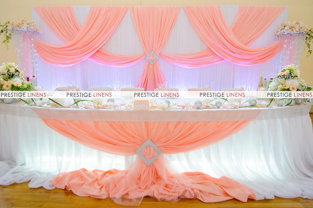 voile chiffon sheer wedding curtain 20ft drape panel. Black Bedroom Furniture Sets. Home Design Ideas